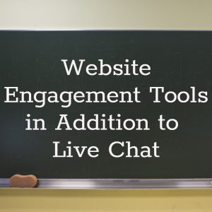 live chat and more